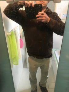 ハウスクリーニング人気の○○でお風呂鏡の水垢をどれくらい落ちるかやってみた