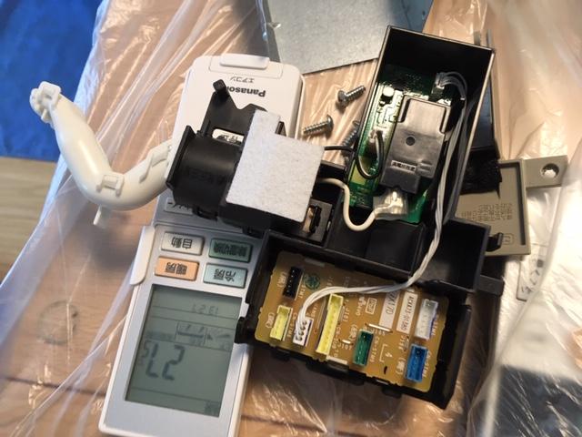 Panasonic製自動お掃除エアコン(CS-GX407C2-W)の分解クリーニングの作業内容!